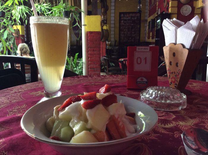 Desayuno en Yogyakarta