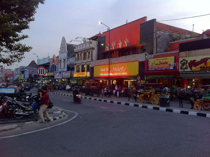 Centro de Yogyakarta