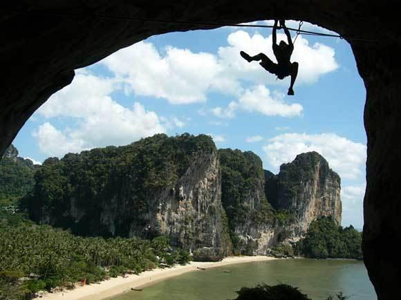 Rock climbing Raylay