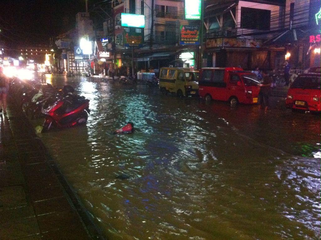 Cuando llueve en Tailandia... llueve de verdad