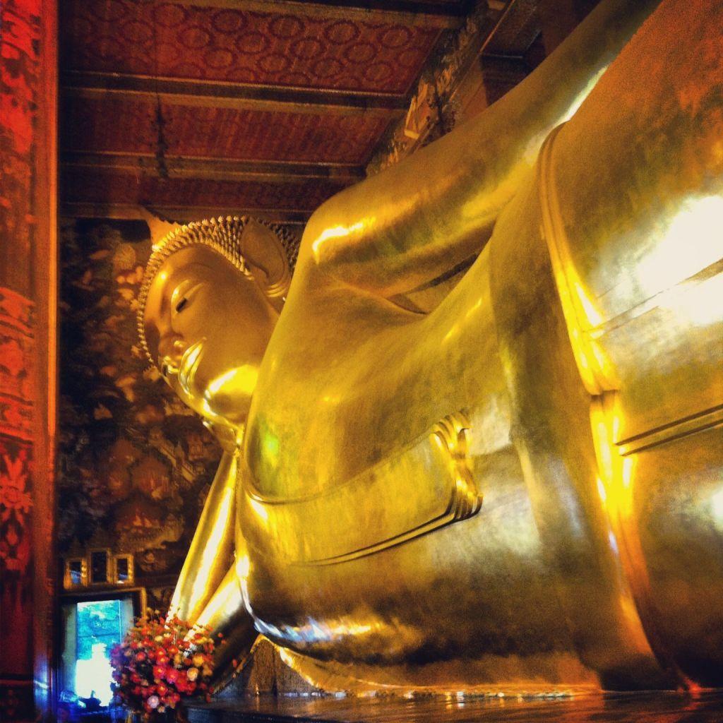 Wat Poh, buda reclinado, Bangkok
