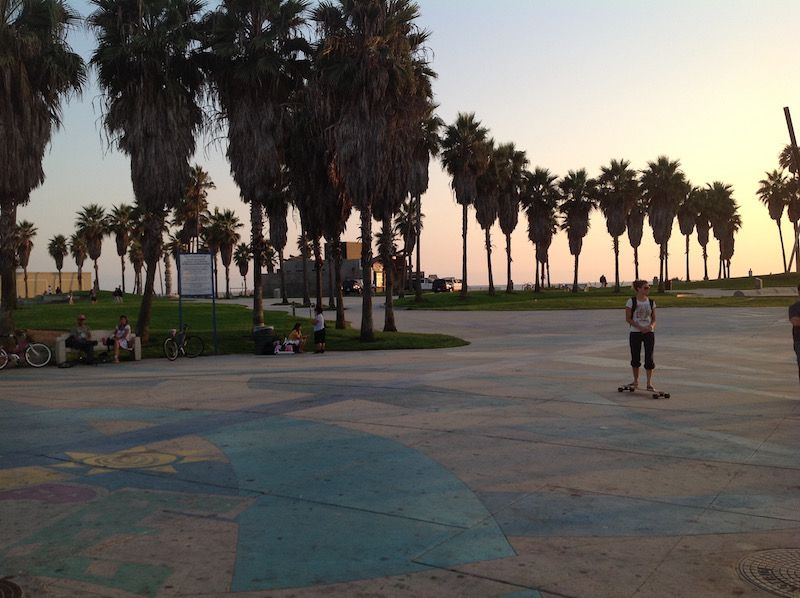 Paseo Venice Beach en Los Angeles (EEUU)