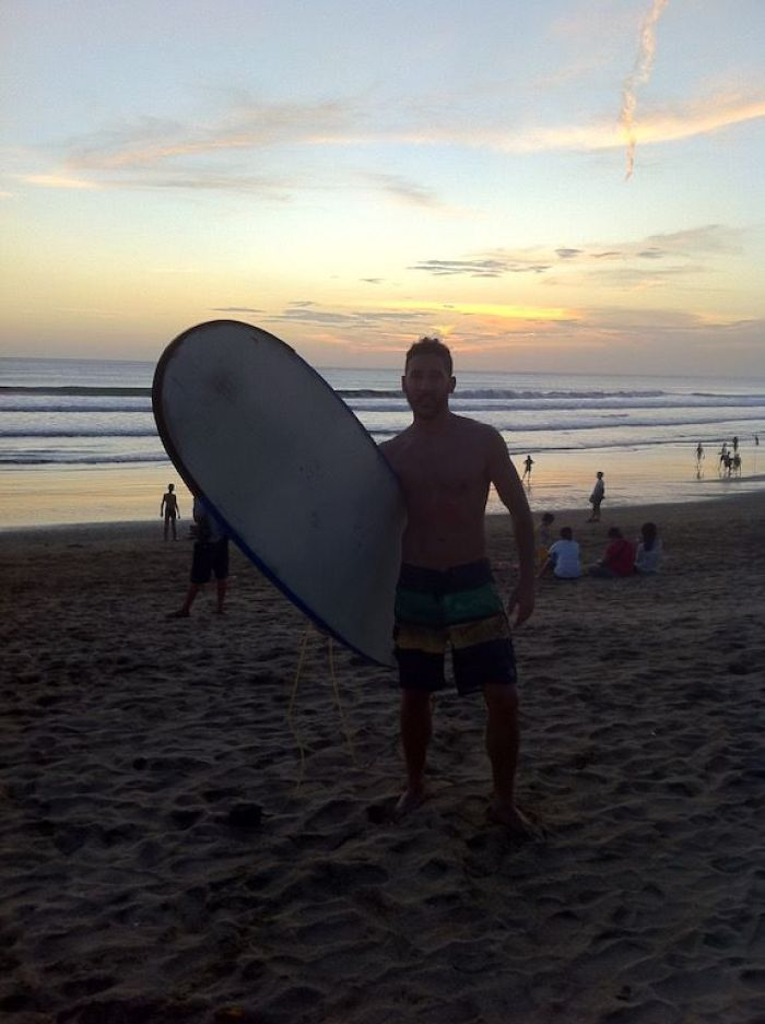 Surf en Kuta, Bali (Indonesia)