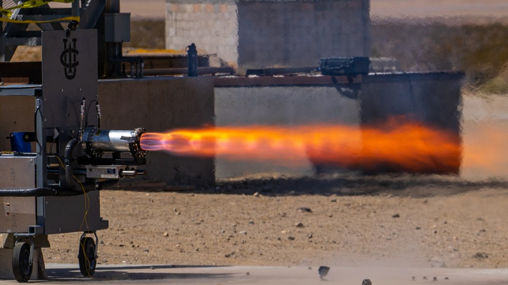 Methalox Static Test Fire   – UCI Rocket Project
