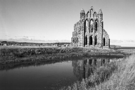 Whitby Abbey ruins, England