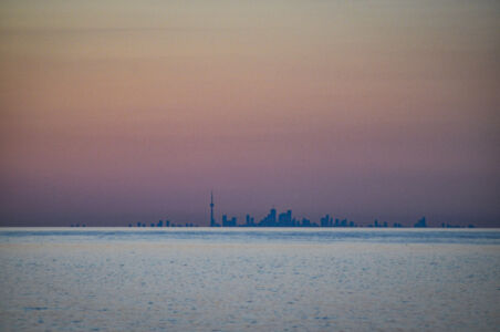 Toronto Skyline from Niagara on the Lake