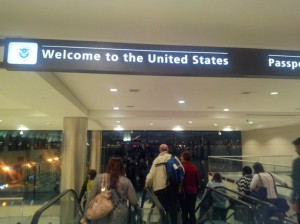Stepping into the United States of America