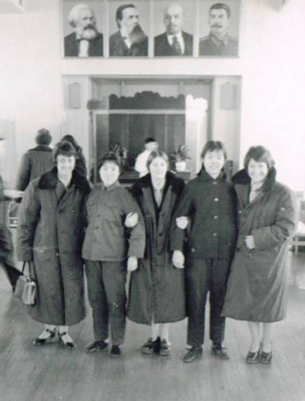 At Beijing Airport 1974