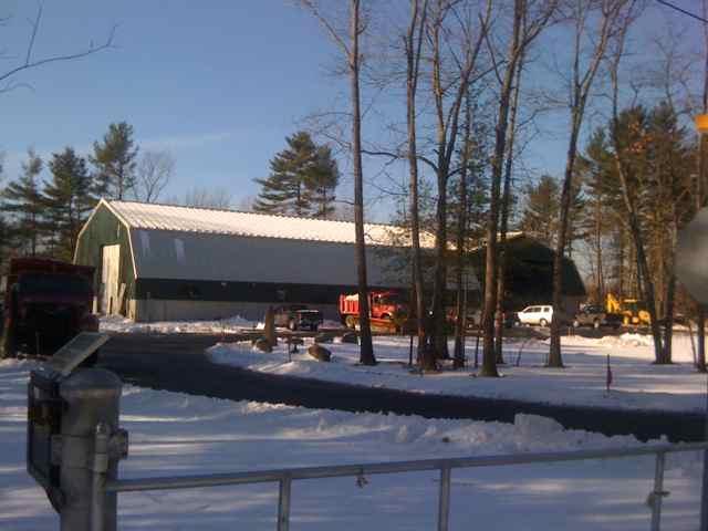 Newington Public Works Garage & Salt Shed