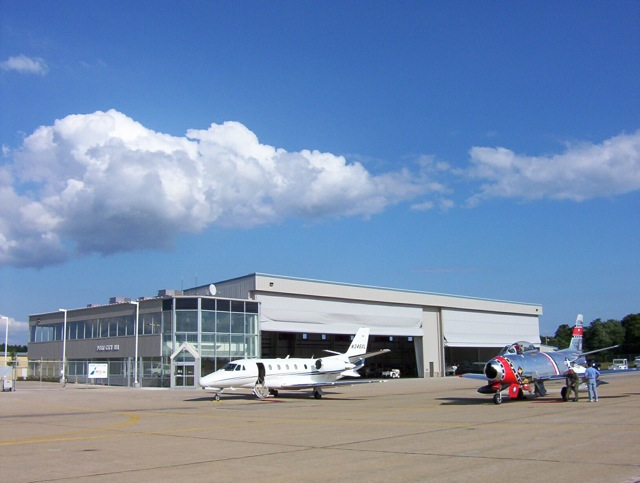 Airport Hangar Office Portsmouth