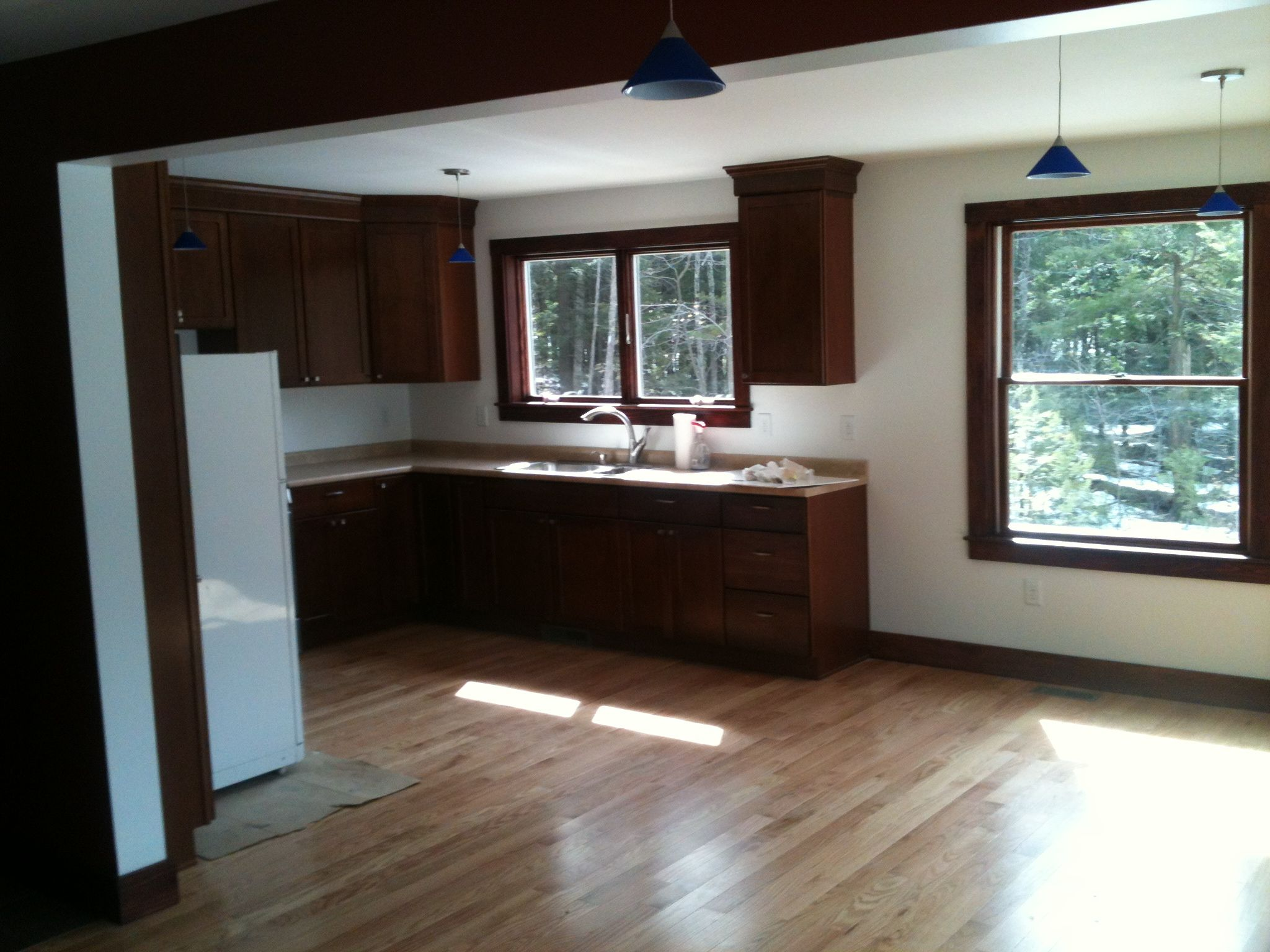 ... Lakefront Small Solar Off Grid Kitchen ...
