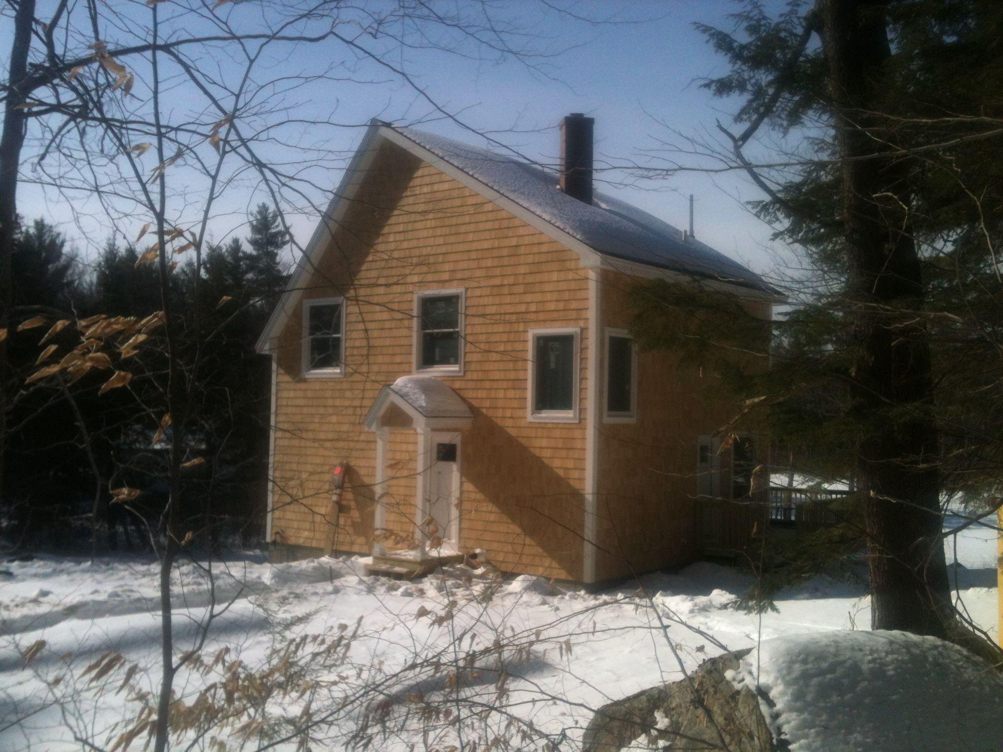 Lakefront Small Solar Home Off The Grid Tony Fallon