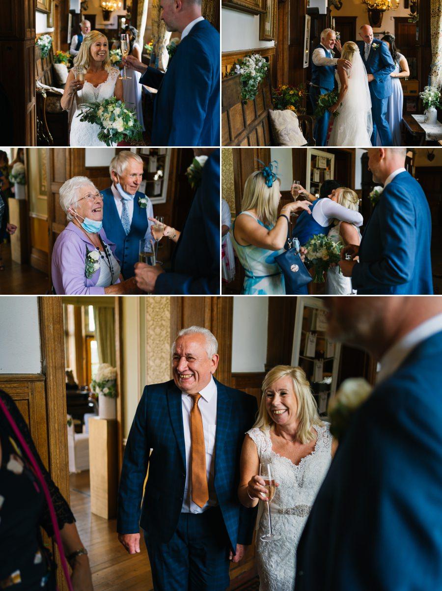 A wedding at Wigfair Hall