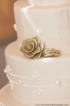 Edith Meyer Wedding Cake