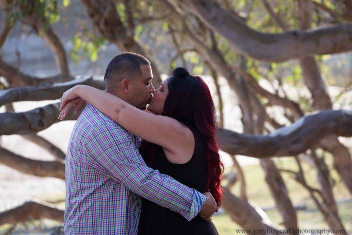 Engagement photos at Natural Bridges (3 of 6)
