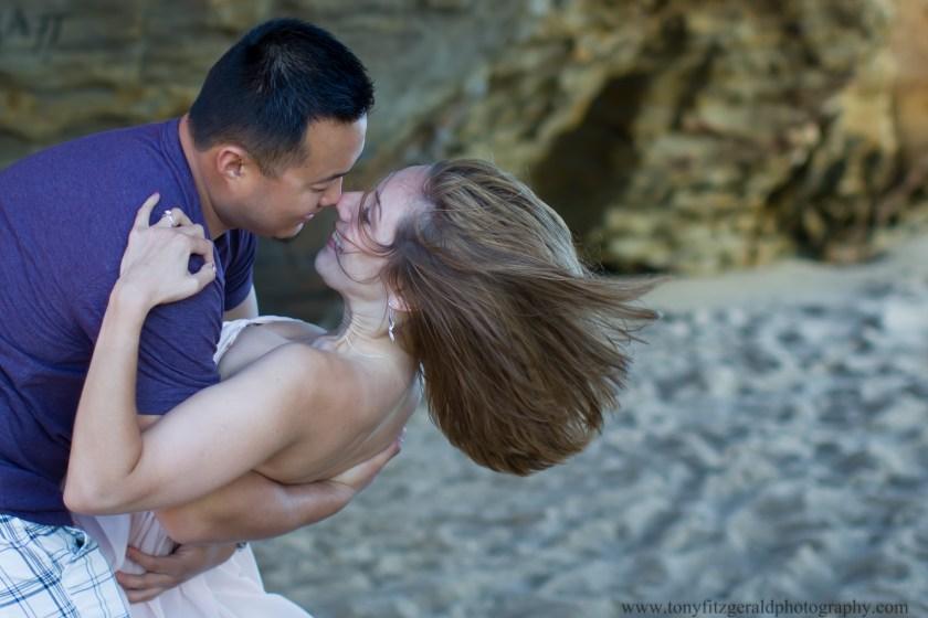 Engagement photos at Panther Beach (6 of 9)