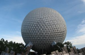 Spaceship Earth at EPCOT, a geodesic sphere