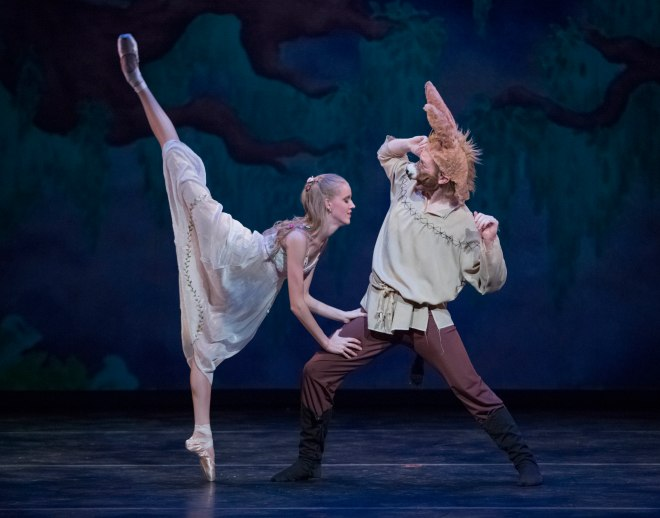 """A Midsummers Night Dream"",The Portland Ballet.  Photo © 2012 Blaine Covert"