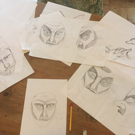 Trying to design a mask with planes