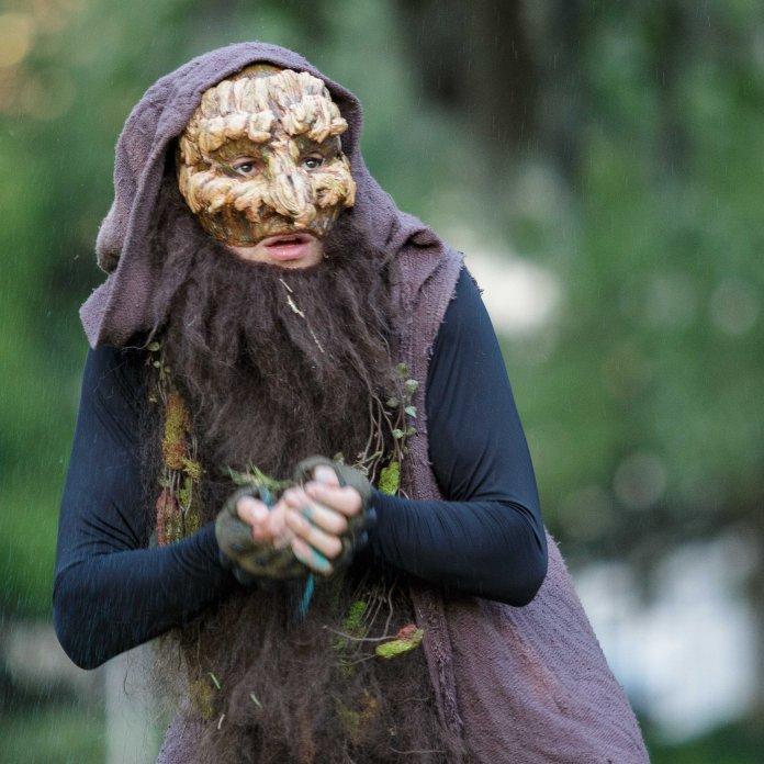 Garloc, the tree troll. Photo: Leslie Gamboni