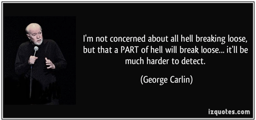 George Carlin - So now that we admit we have a problem Part 2
