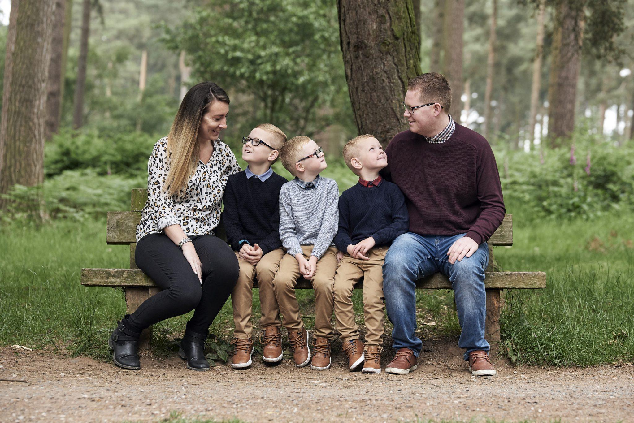 Family Outdoor Photoshoot - Tony Hailstone Video & Photography