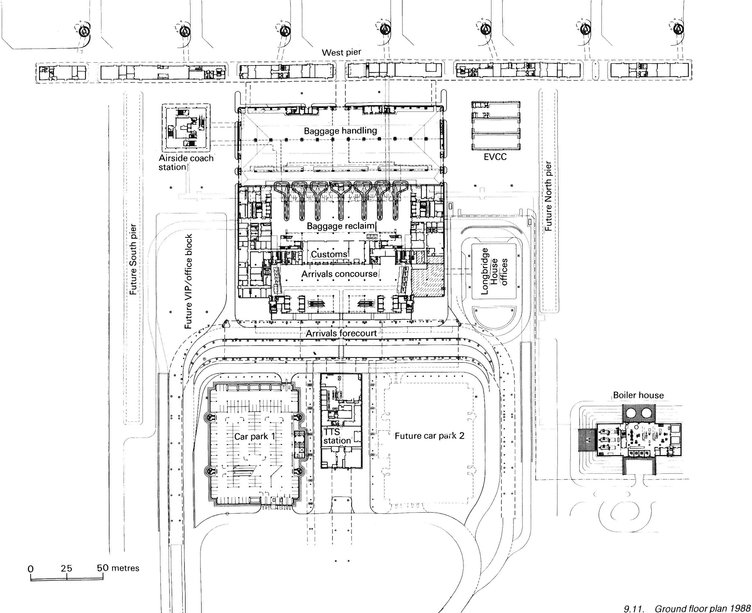 Existing International Airport Layouts T O N Y H W I J A Y A