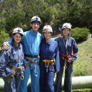 Caving in the Blue mountains