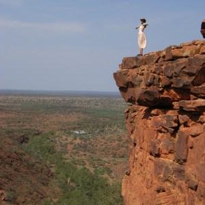 Roo on the edge