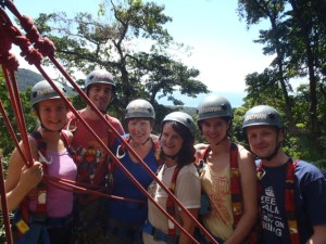 Zip Line group