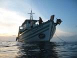 Chaloklum Diving Boat