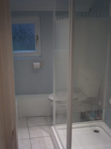 Shower room AFTER