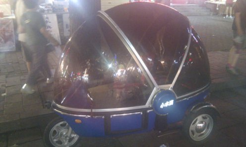 The Bubble Bike - Roo's dream mode of transportation. She hasn't shut up about it since.