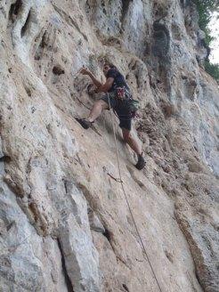 Rockclimbing-Tony