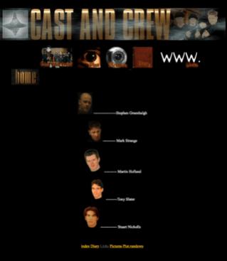 Displaced website - cast list
