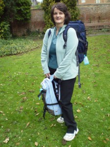 Mum as a backpacker