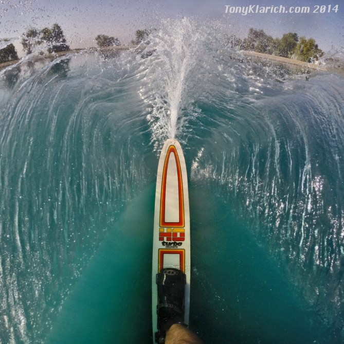 water ski HO turbo Tony Klarich GoPro