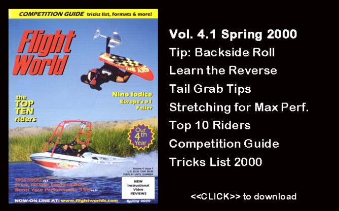 Flight Worlds Hydrofoiling 4.1 Fitness Stretching Water Skiing