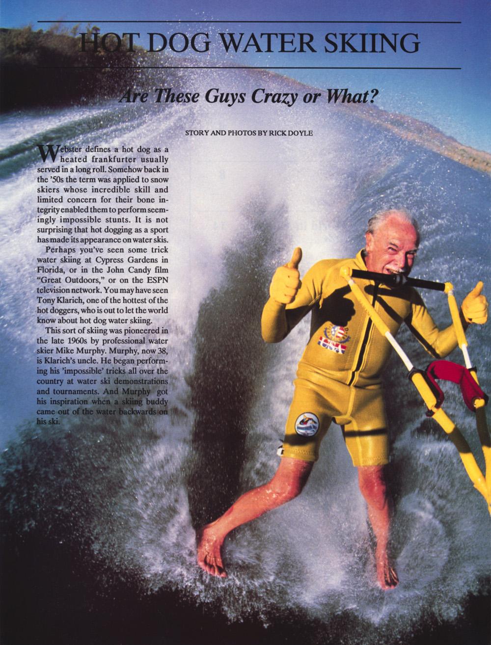 Nissan Hot Dog Water Skiing 1 Banana George Blair Barefooting