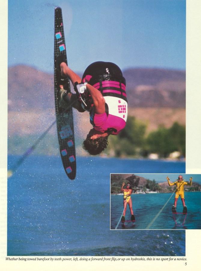 Nissan Hot Dog Water Skiing Tony Klarich Slalom Flip