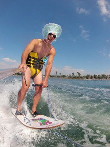 tony klarich big baby new year go pro funny water skiing