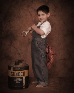 Vintage Children's Portraits by Tony Lafferty