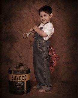 Vintage Children's Portraits by Tony Lafferty