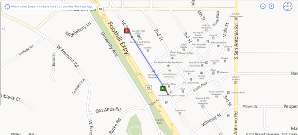 Bing Maps Did the Job