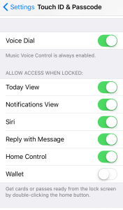 Settings/Touch ID and PasscodeMy iPhone 6s Phone Would Not Ring But I Found The Answer