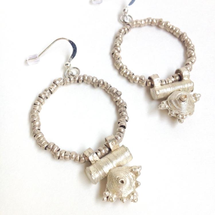 Fair Anita Bullet Casing Earrings
