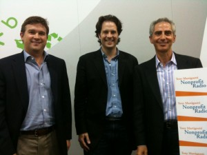With Mark Davis and Casey Golden at Blackbaud 2012