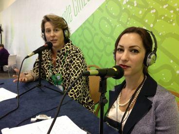 Hutchisson and Dellaccio at bbcon mics