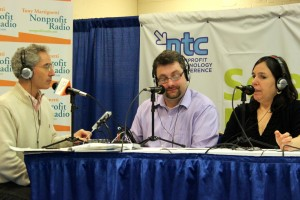 Me with Tim Sarrantonio & Lisa Rau at 14NTC