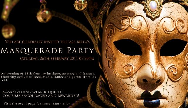 Casa Bella's Venetian carnival is announced